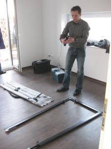 Blower-Door-Messungen